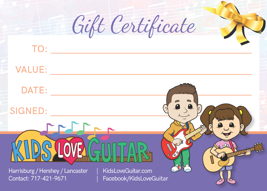 129358 Kids Love Guitar Gift Certificate revised PROOF 20181216 small